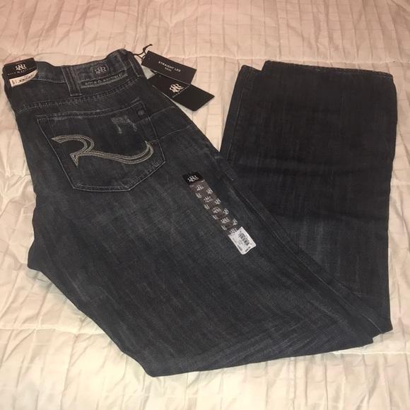 Rock & Republic Other - Rock & Republic Neil Straight Leg Jeans 36X34